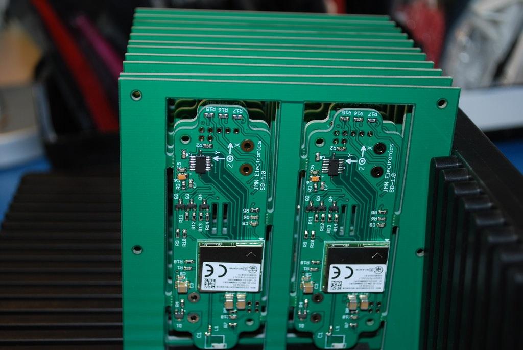Soldadura de PCBs y  prueba de prototipos.