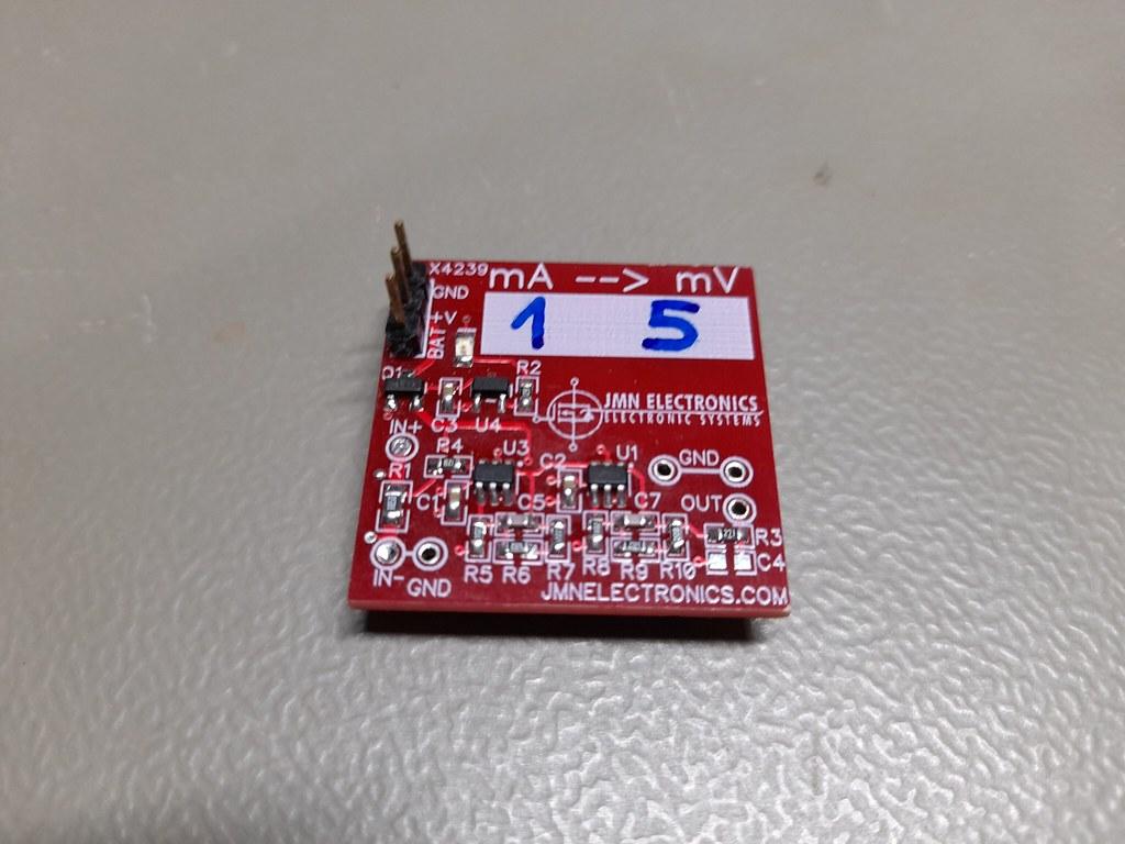 Amplificador placa roja