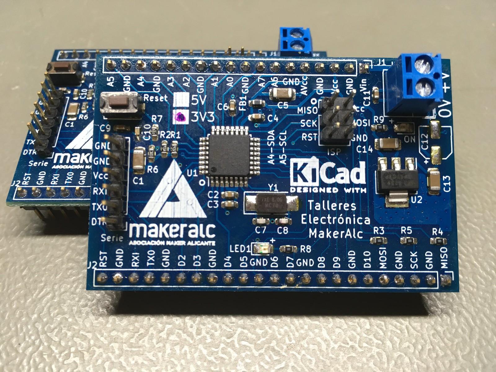 Arduino Pro Mini versión MakerAlc.